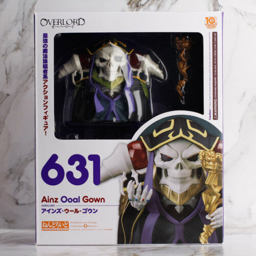Nendoroid 631 Overlord Ainz Ooal Gown PVC Figure New In Box