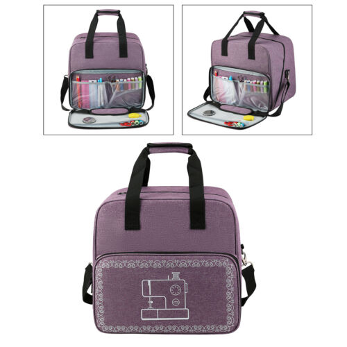 Universal Home Sewing Machine Accessory Portable Carry Organizer Protective Bag