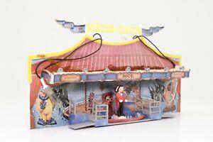 Faller-140319-h0-souris-Circus-Fete-foraine-cabane-avec-eclairage-fini-monte