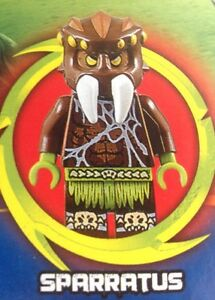 Lego-70130-Legends-Of-Chima-Sparratus-Mini-Figure-weapon-only-NEW