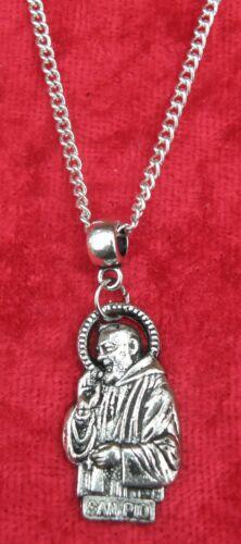 "18/"" 24/"" Inch Necklace /& Apostle San Padre Pio Religious Saint St da Pietrelcina"