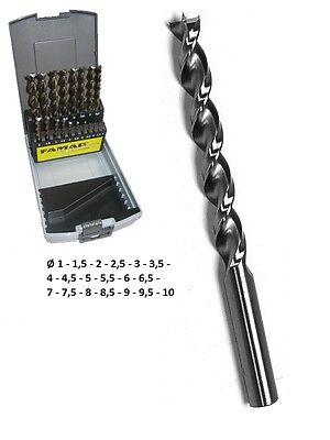 mit abg Schaft auf 13 mm geschliffen Gr/ö/ße: 20,5 mm HSS-GK Spiralbohrer DIN 338 N