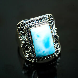 Larimar-925-Sterling-Silver-Ring-Size-9-25-Ana-Co-Jewelry-R990875F