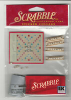 Jolee's Hasbro Scrabble 3d Stickers Game Entertainment