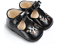 Newborn Baby Girl T-Bar Pram Shoes Faux Leather Pre Walker Bowknot Shoes 0-18 M