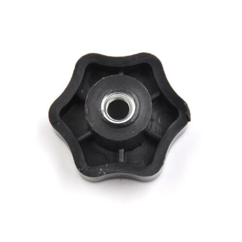 12pcs 8mm M6 Innengewinde Sternförmige Kopf Griffmuttern Knopf  hv