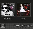 One More Love/Pop Life by David Guetta (CD, Sep-2011, 2 Discs, EMI)