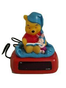 Disney Fantasma Winnie The Pooh And Piglet Digital Alarm Clock Night Light