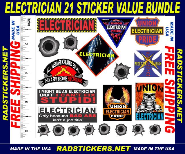 Lineman Warning Attitude Decal Lineman Hard Hat Bumper 2 pack Stickers mka