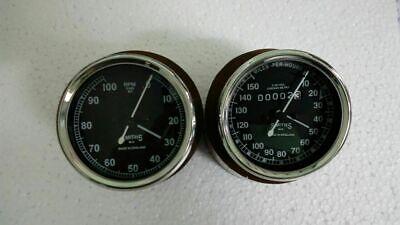 Zundapp Speedometer 160 Kph New Replica 80 mm M18 X 1.5