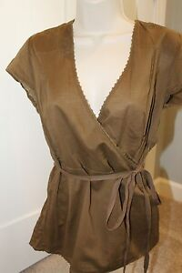 FOSSIL women's Blouse Size Large