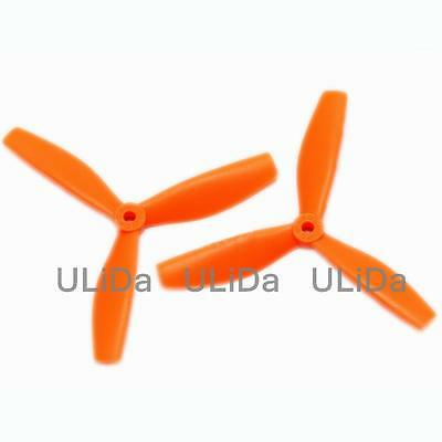 """2 Pairs Bullnose 4045 4*4.5/"""" Black Propeller CW//CCW Prop for Quadcopter"""