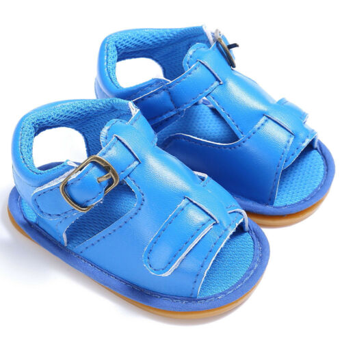 Newborn Baby Kids Girls Boys Casual Sandals Sneakers Anti-slip Soft Sole Shoes