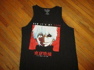TOKYO-GHOUL-NOW-IT-039-S-MY-TURN-TANK-TOP-Sleeveless-Anime-T-Shirt-Adult-MEDIUM