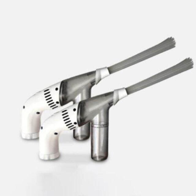 Portable Mini Handheld Vacuum Cleaner Home Duster Clean Brush Dirt Remover