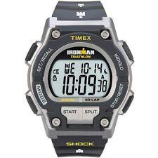 Timex T5K195, Men's Ironman 30-Lap Resin Watch, Alarm, Shock, Indiglo,  T5K1959J