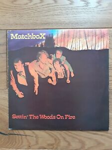 Matchbox-Settin-039-The-Woods-On-Fire-WIK-10-Vinyl-LP-Album