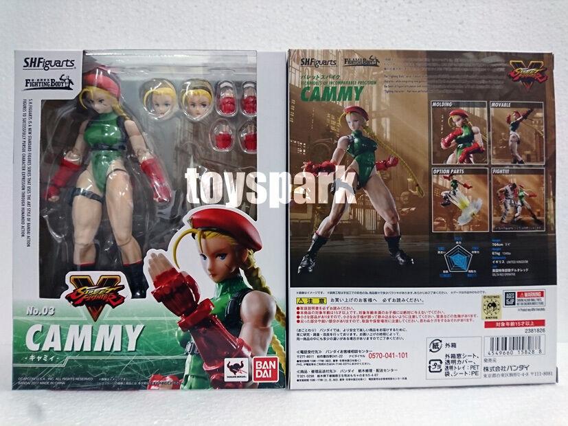 JAPAN VER BANDAI S.H.Figuarts Capcom Street Fighter V V V CAMMY 6  shf action figure f16f33