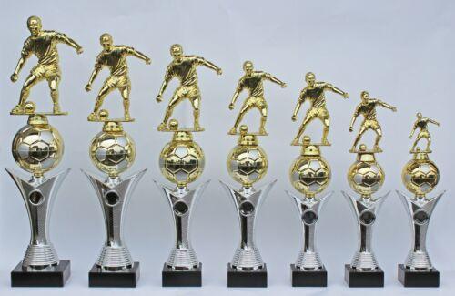 Série 7er trophées trophée Football avec personnage et Ball-incl Médaillon