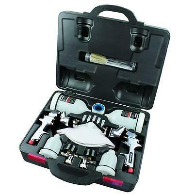 Husky HVLP Standard Gravity Feed Air Paint Spray Gun Tool Kit Sprayer Painting