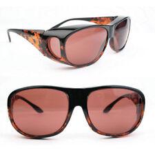 Eschenbach Solar Shield Plum Filter - Medium Size Sunglasses FitOvers New
