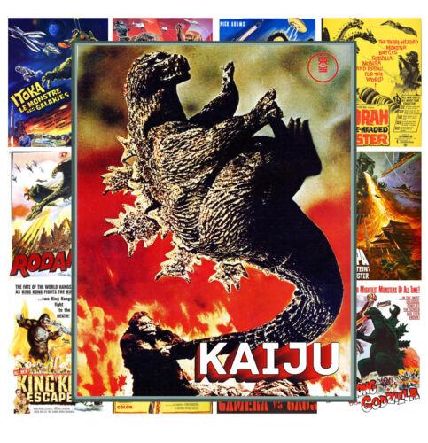 """13 posters 8/""""x11/""""//A4 Mini Posters Kaiju Godzilla Horror Vintage Movie MP436"""