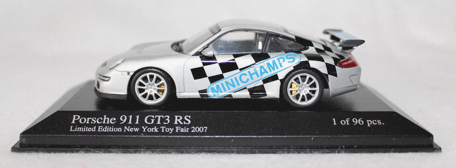 MINICHAMPS 1 43rd Scale PORSCHE 911 GT3 RS, New York Toy Fair, 2007