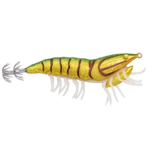 3d Hybride Shrimp l/'ASE 9,2 cm 21 G gigue Green Back Savage Gear calmar leurre