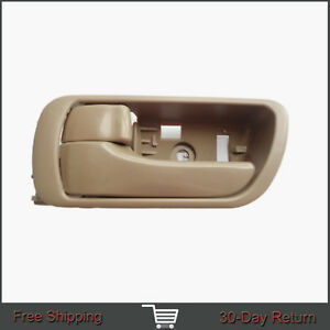 For 02-06 Toyota Camry Inside Interior Front Rear Left Side Beige Door Handle