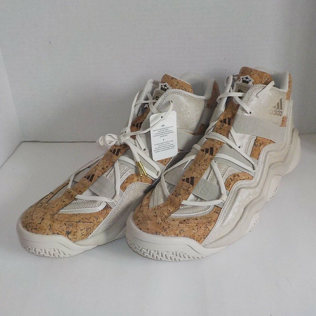 adidas TOP TEN 2000 Trionfo Basketball Shoes CORK AQ8539 MEN 18 FAST SHIP