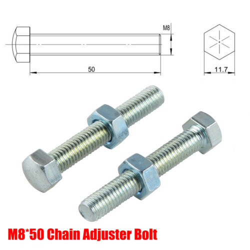 M8 Chain Adjuster Bolt For Suzuki RM 125 250 RMZ 450 RMZ250 RMZ450 Hardened 10.9