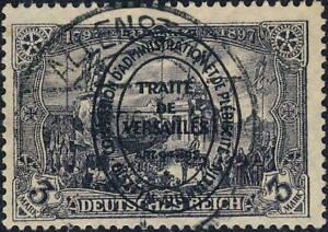 ALLENSTEIN-OLSZTYN-1920-Mi-28-Used-034-ALLESTEIN-034-Deutsche-Abstimmungsgebiete
