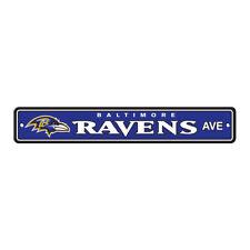 942b5c868 item 7 NFL Baltimore Ravens Home Room Bar Office Decor AVE Street Sign 4