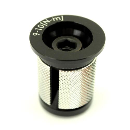 """Plug /& Top Cap Carbon GWH Industries 1-1//8/"""" Headset Expansion Bolt"""