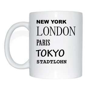 New-York-Londres-Paris-Tokyo-Stadtlohn-Tasse-a-Cafe