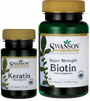 Keratin & Biotin Best Hair Skin Nails Beauty Vitamin Combo Pill Hair Growth