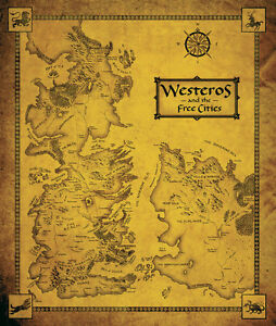 Game-Of-Thrones-Map-Westeros-the-Free-Cities-1-Piece-Glossy-Poster-Art-Print