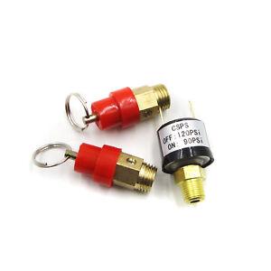 1-10-KG-1-4-034-BSP-Air-Compressor-Safety-Release-Valve-Relief-Regulator-PSI90-120