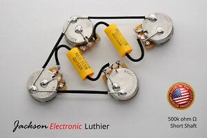 les paul wiring harness kit 525k cts short shaft mojo dijon 022 rh ebay com mojo 335 wiring harness mojo 335 wiring harness