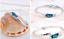 Bracciale-Braccialetto-Donna-Cristallo-Zircone-Swarovski-Azzurro-Strass-Coppia miniatura 10
