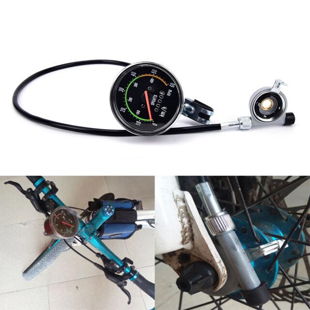 Waterproof bicycle bike speedometer analog mechanical odometer with hardware LH
