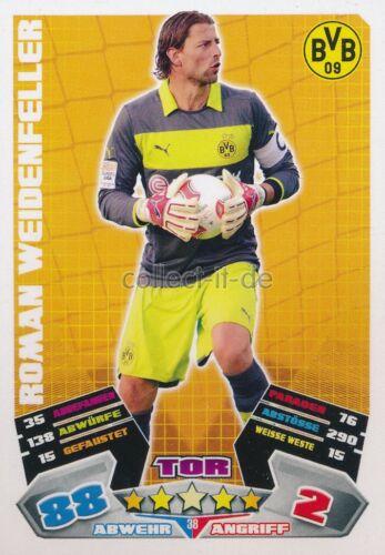 Match Attax 12//13-38-Roman Weidenfeller