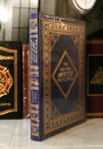 NEW YORK METS ENCYCLOPEDIA - Easton Press - LARGER BOOK - SEALED w/BOX