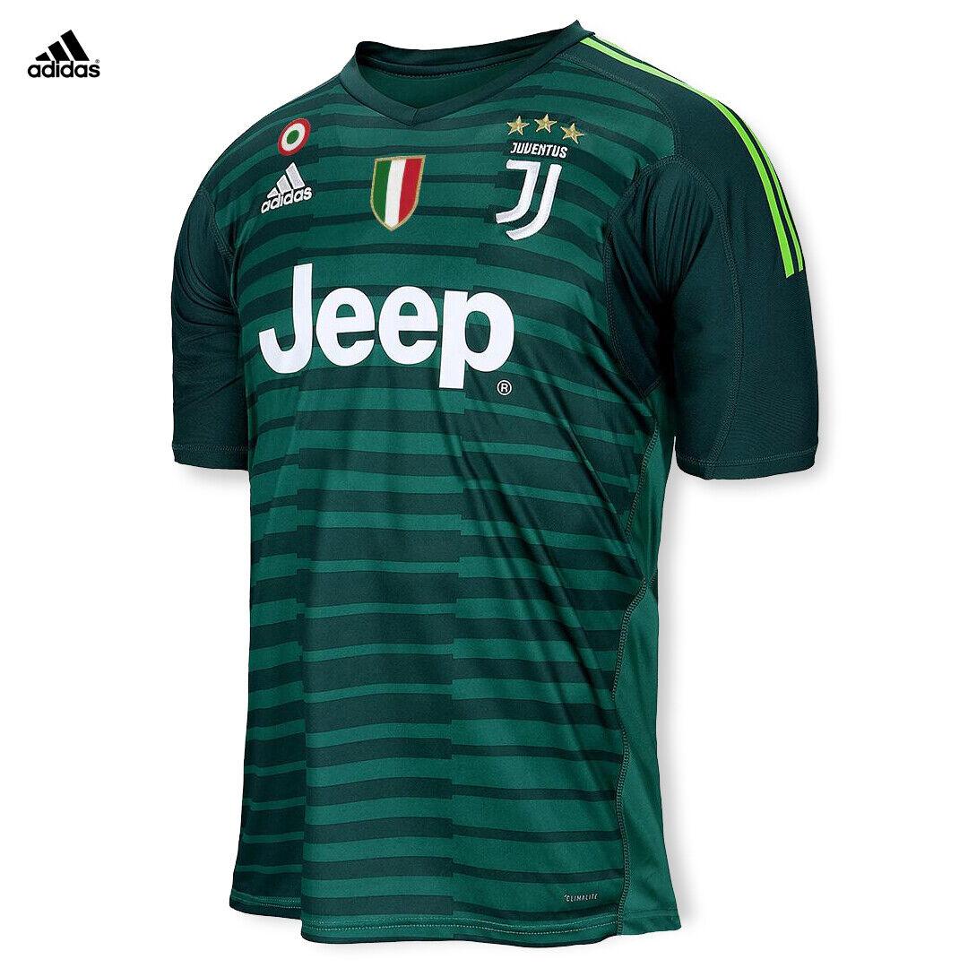 Juventus Maglia Szczęsny Gara Portiere 2018 19 Patch Scudetto Coppa Italia hombres