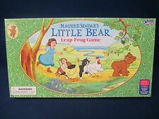 Maurice Sendak's Little Bear Leap Frog Game Complete 1999 Cadaco