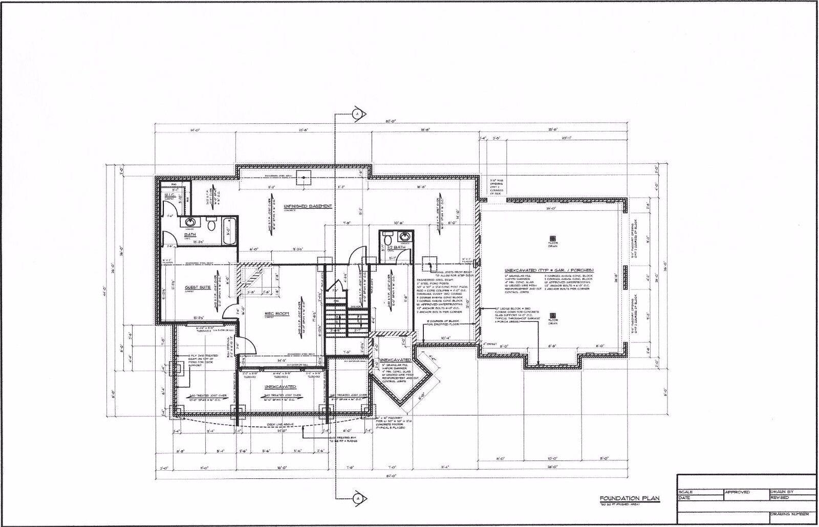 Full Set of two story 3 bedroom house plans 3,821 sq ft