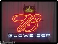 Budweiser Beer Neon Sign Refrigerator Magnet This Is Not A Actual Sign