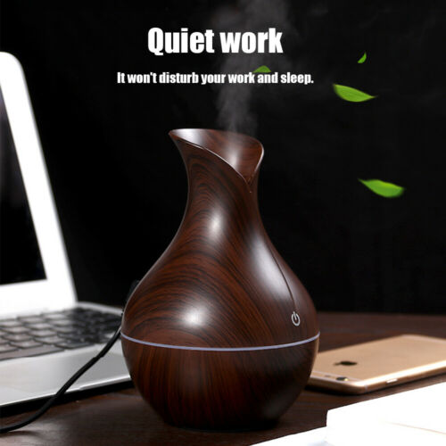 USB Mini Aroma Diffuser Air Aromatherapy Purifier Essential Oil Mist Humidifier
