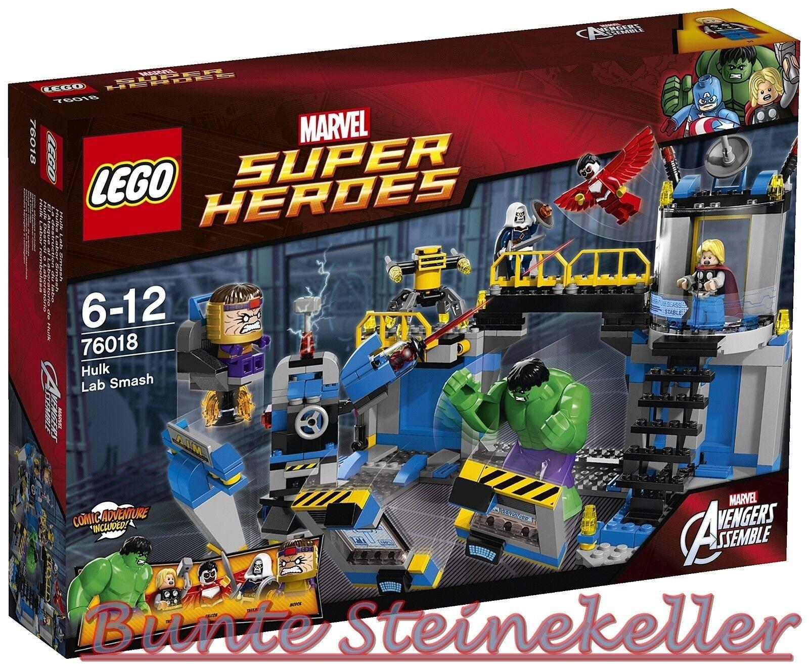 LEGO ® super heroes marvel  76018 Hulks laboratoire smash & 0. - expédition & OVP & nouveau