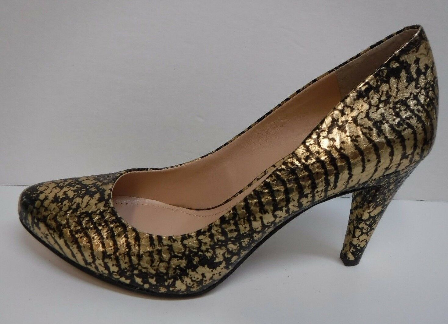 Vince Camuto Taille 6 Leather or marron Pumps New femmes chaussures